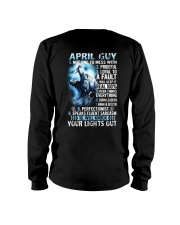 APRIL GUY NOT ONE TO MESS WITH Long Sleeve Tee thumbnail
