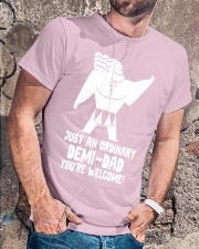 JUST AN ORDINARY DEMI-DAD Classic T-Shirt thumbnail