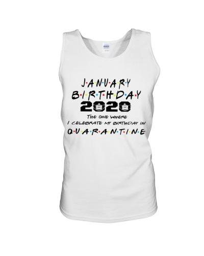 JANUARY BIRTHDAY 2020 CELEBRATE IN QUARANTINE