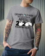 APRIL GRUMPY OLD MAN 2020 QUARANTINED Classic T-Shirt lifestyle-mens-crewneck-front-6