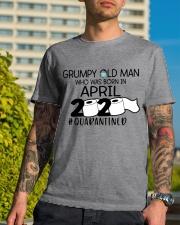 APRIL GRUMPY OLD MAN 2020 QUARANTINED Classic T-Shirt lifestyle-mens-crewneck-front-8