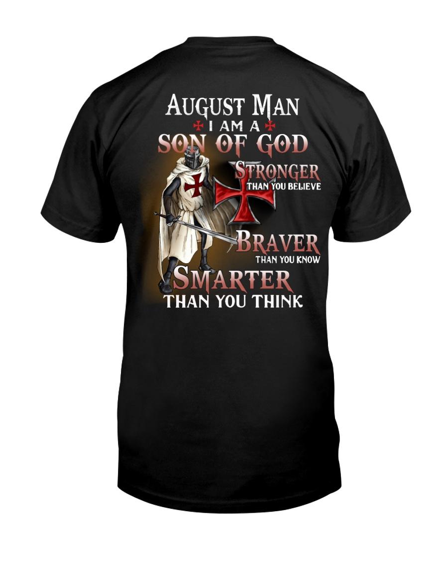 AUGUST MAN - I AM A SON OF GOD Classic T-Shirt