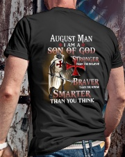 AUGUST MAN - I AM A SON OF GOD Classic T-Shirt lifestyle-mens-crewneck-back-2