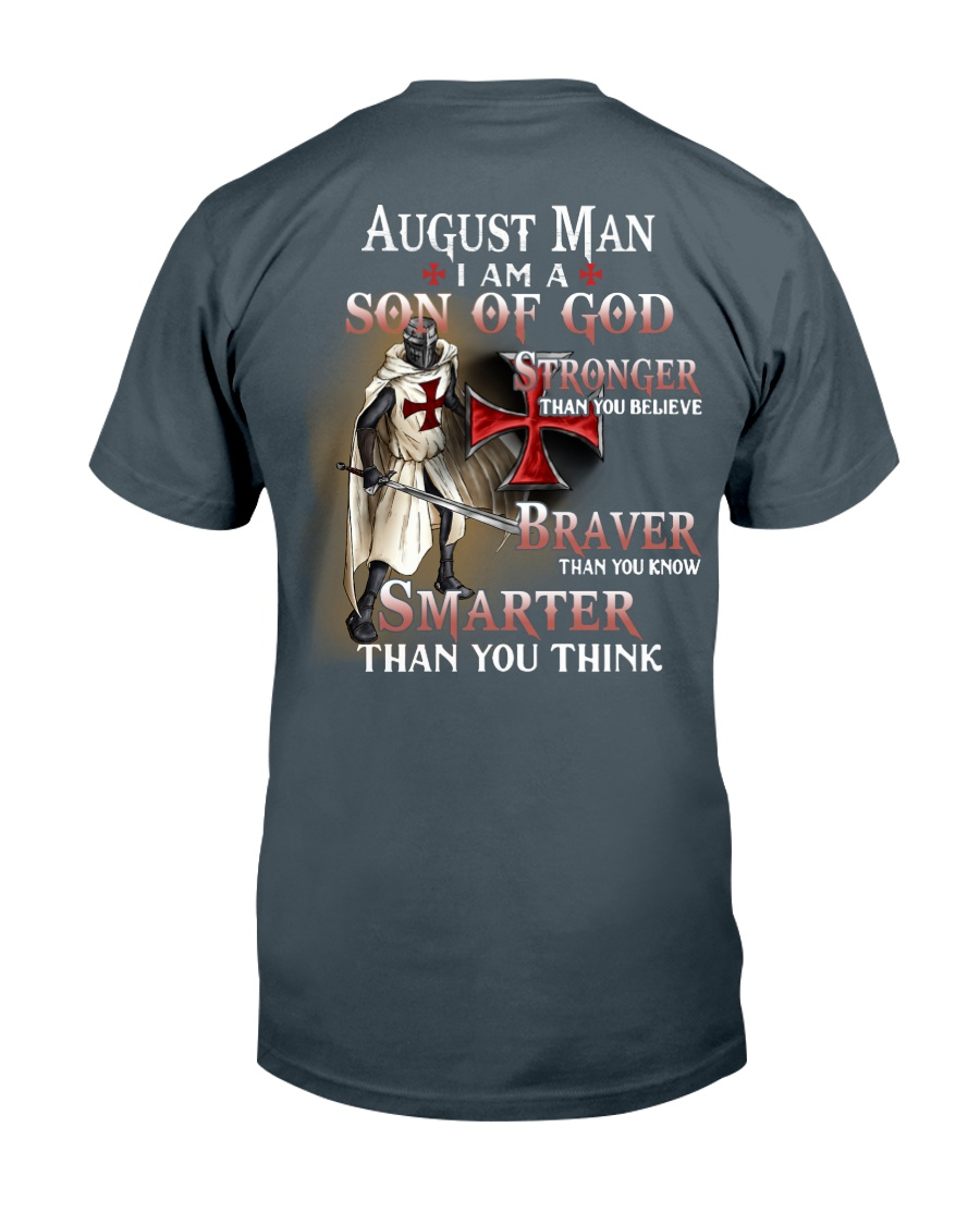 AUGUST MAN - I AM A SON OF GOD Classic T-Shirt