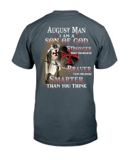 AUGUST MAN - I AM A SON OF GOD Classic T-Shirt back