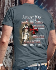 AUGUST MAN - I AM A SON OF GOD Classic T-Shirt lifestyle-mens-crewneck-back-2