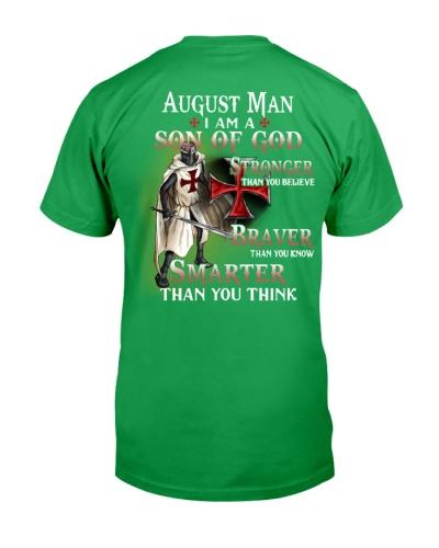 AUGUST MAN - I AM A SON OF GOD