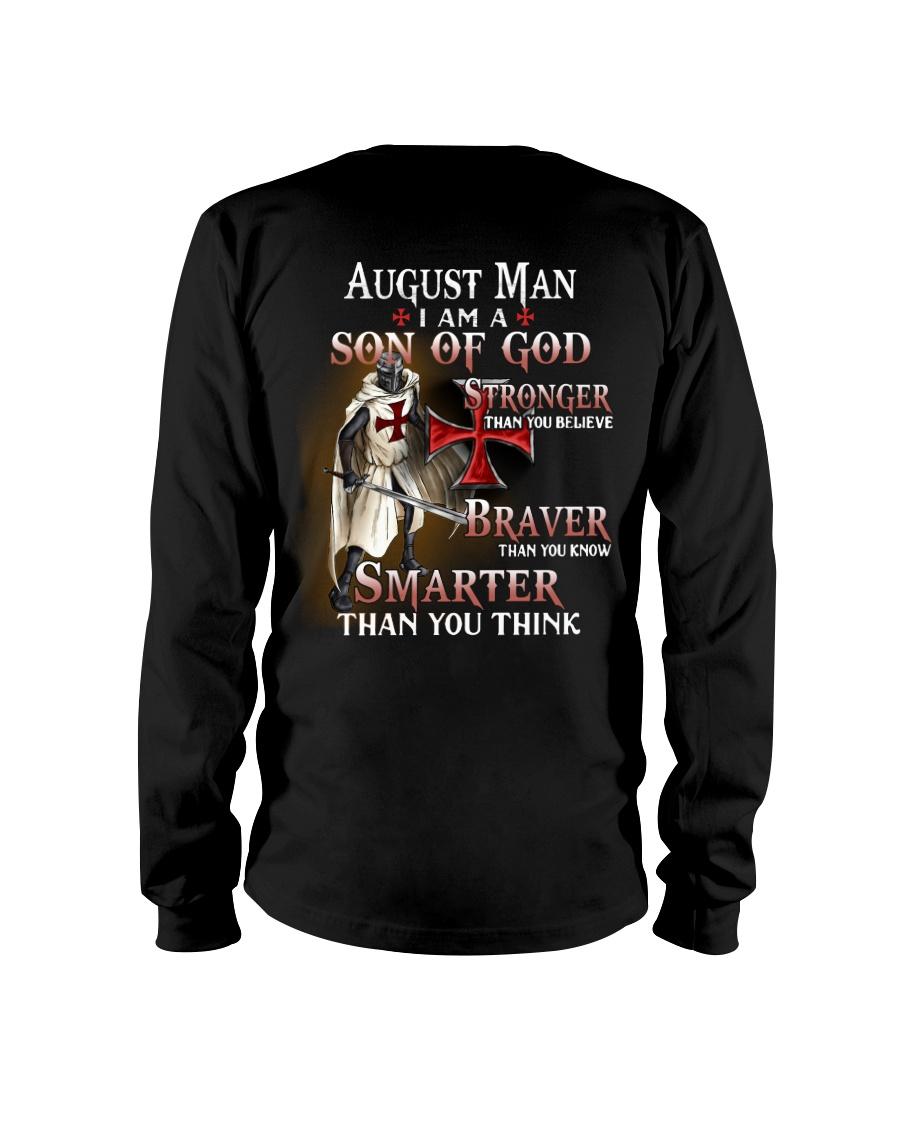 AUGUST MAN - I AM A SON OF GOD Long Sleeve Tee