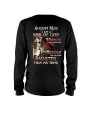 AUGUST MAN - I AM A SON OF GOD Long Sleeve Tee back
