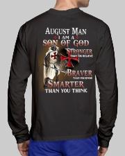 AUGUST MAN - I AM A SON OF GOD Long Sleeve Tee lifestyle-unisex-longsleeve-back-1