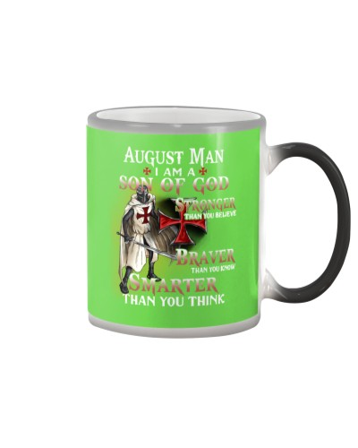 AUGUST MAN - I AM A SON OF GOD
