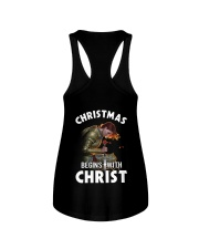 CHRISTMAS BEGINS WITH CHRIST - WARRIOR OF CHRIST Ladies Flowy Tank thumbnail