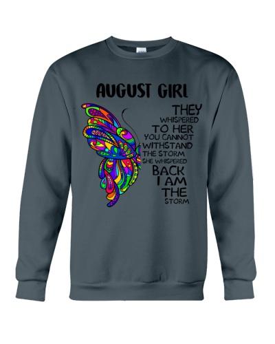 AUGUST GIRL - SHE WHISPERED BACK I AM THE STORM
