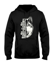 WOLVES - ITS NOT OVER Hooded Sweatshirt thumbnail