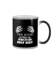 THESE BOOBS ARE TAKEN BY A CRAZY JULY GUY Color Changing Mug thumbnail