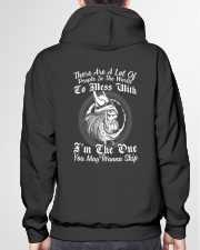 VIKINGS VALHALLA - DONT MESS WITH ME Hooded Sweatshirt garment-hooded-sweatshirt-back-04