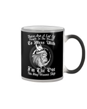 VIKINGS VALHALLA - DONT MESS WITH ME Color Changing Mug thumbnail