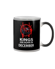 KINGS ARE BORN IN DECEMBER Color Changing Mug thumbnail