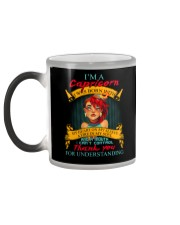 CAPRICORN WAS BORN WITH MY HEART ON MY SLEEVE Color Changing Mug color-changing-left