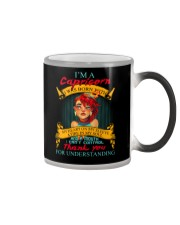 CAPRICORN WAS BORN WITH MY HEART ON MY SLEEVE Color Changing Mug thumbnail