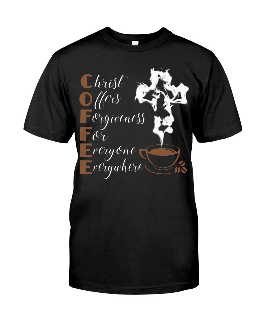 CHRIST COFFEE - WARRIOR OF CHRIST Classic T-Shirt