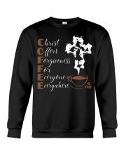 CHRIST COFFEE - WARRIOR OF CHRIST Crewneck Sweatshirt thumbnail