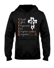 CHRIST COFFEE - WARRIOR OF CHRIST Hooded Sweatshirt thumbnail