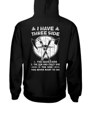 VIKINGS VALHALLA - THREE SIDE Hooded Sweatshirt back