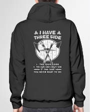 VIKINGS VALHALLA - THREE SIDE Hooded Sweatshirt garment-hooded-sweatshirt-back-04