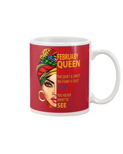 I'M A FEBRUARY QUEEN - I HAVE 3 SIDES