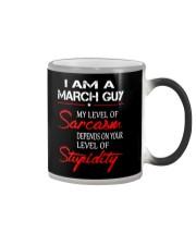 I AM A MARCH GUY Color Changing Mug thumbnail
