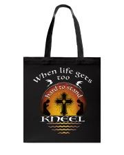 KNEEL - WARRIOR OF CHRIST Tote Bag thumbnail