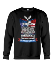 LEGENDS ARE BORN IN FEBRUARY Crewneck Sweatshirt thumbnail