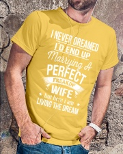 PERFECT FREAKIN WIFE Classic T-Shirt lifestyle-mens-crewneck-front-4