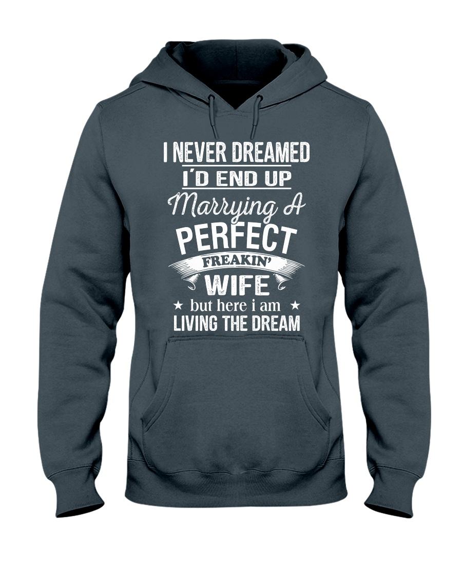 PERFECT FREAKIN WIFE Hooded Sweatshirt
