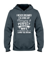 PERFECT FREAKIN WIFE Hooded Sweatshirt front
