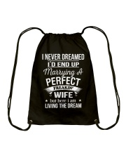 PERFECT FREAKIN WIFE Drawstring Bag tile