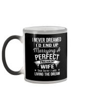 PERFECT FREAKIN WIFE Color Changing Mug color-changing-left