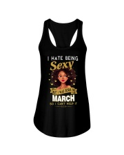 I HATE BEING SEXY - MARCH Ladies Flowy Tank thumbnail