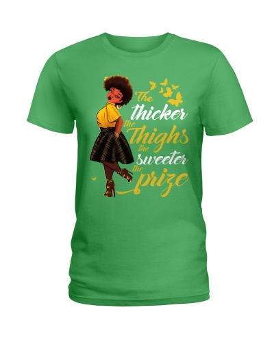 THE THICKER THE THIGHS - AFRICAN AMERICAN