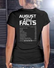 AUGUST GIRL FACTS Ladies T-Shirt lifestyle-women-crewneck-back-3