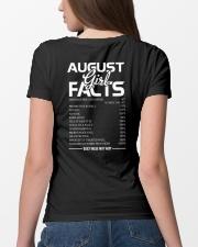 AUGUST GIRL FACTS Ladies T-Shirt lifestyle-women-crewneck-back-4
