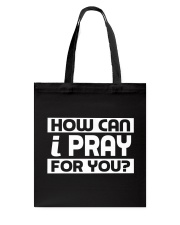 HOW CAN I - WARRIOR OF CHRIST Tote Bag thumbnail