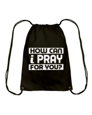 HOW CAN I - WARRIOR OF CHRIST Drawstring Bag thumbnail