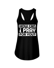 HOW CAN I - WARRIOR OF CHRIST Ladies Flowy Tank thumbnail