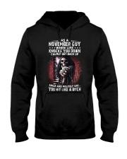 NOVEMBER GUY - WHEN LIFE KNOCKS YOU DOWN Hooded Sweatshirt thumbnail