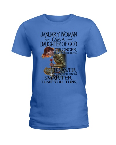 JANUARY WOMAN - I AM A DAUGHTER OF GOD