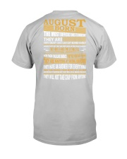 AUGUST BORN Classic T-Shirt back