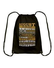 AUGUST BORN Drawstring Bag thumbnail