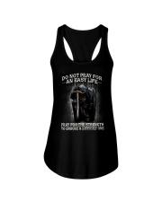 PRAY - WARRIOR OF CHRIST Ladies Flowy Tank thumbnail